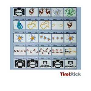 Tirolstick Logos